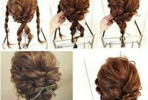 long hair / user friendly, hair friendly hairdressing for shoulderblade length and longer hair