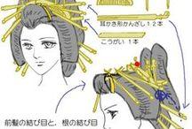 nihongami + kitsuke