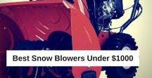 Best Snow Blowers Under $1000