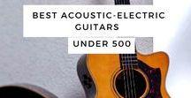 Best Acoustic-Electric Guitars Under 500
