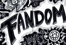 My fandoms / I love all fandoms and hope to join more! Let me know which ones y'all think I should be a part of!