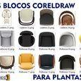 Blocos Coreldraw - Plantas Humanizadas / Amostra de blocos coreldraw para plantas humanizadas do site arteblocos.com para comercialização, folders, outdoor's, redes sociais. http://www.arteblocos.com/