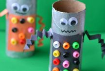 Paper Crafts For Kids / Board dedicated to easy, fun paper crafts for the little ones. DIY tutorials and project ideas using newspaper, magazines, construction paper and recycled paper household items.