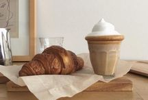 Break the fast / Coffee, tea and cream. Perhaps a few croissants as well for good measure!