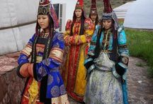 Colorful traditional cultures