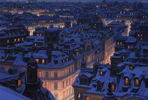 Paris, France / Paris: the moving postcard. The living museum. The city inside a palace.