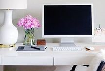Home office / Creating the perfect work space at home