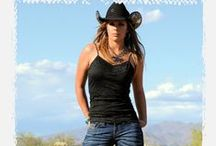 Country girls and Cowboys