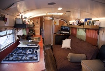 . bus conversion . / School Bus/Van Renovated for Simple Living.