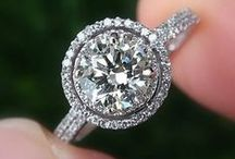 Diamond Engagement Rings / A beautiful collection of Custom Diamond Engagement Rings from the Diamond Vault of Troy.