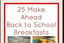 Breakfast Items and Ideas