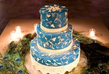"""Cakes: Brilliantly Blue / Cakes in hues of brilliant blues... check out my other board """"Something Blue"""" for pale blue cakes. / by Lauren Schultz"""
