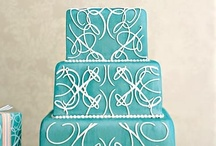 Cakes: Turquoise & Teal / Cakes in shades of turquoise and teal... / by Lauren Schultz