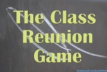 Class Reunion Ideas / Helpful suggestions for a class reunion...