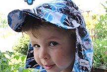 Original Flap Hat / Our popular signature baby Flap Hap available in solid colors and prints with UPF 50+ fabric to protect from harsh sun UV rays.