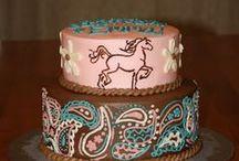 Unicorn & Pony Cakes / by Messy Little Lauren Alise