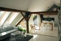 attic hideaways / a retreat from the everyday into a space above the sprawl.