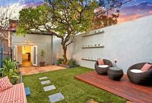 small backyards / backyards maybe shrinking but still a necessity for balanced home living.