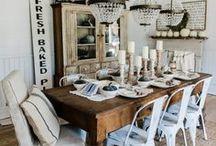 Dining room / #Dining #room #decor #ideas