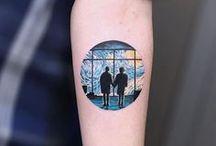 EGO. artsy tattoos