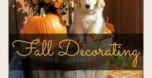 Fall Decorating / Decorating Ideas for fall, recipes and fall cocktails