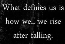 Inspiring Words of Wisdom / by Ashley Kinstler