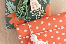 Gifts Looking Pretty / Ideas for wrapping and decorating gifts