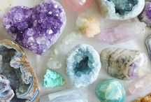 Crystalized / A lot of stones and crystals