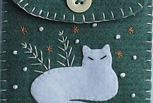 Applique, Embroidery and Felt / by Eeva Valentine