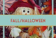 Fall, Halloween & Thanksgiving Decor & Ideas / Decor ideas for fall including Thanksgiving and Halloween. Costumes, too