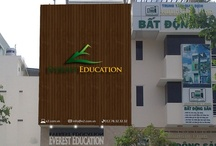 E2 Exterior Signage / Front and side wall at D7 center / by Tony Ngo