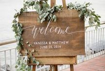 Beautiful Wedding Ideas / Rustic chic wedding ideas, country chic wedding inspirations, boho wedding ideas and everything for your 2017 wedding needs. Great inspires!