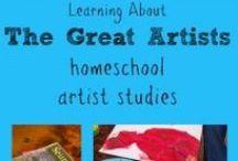 Home School: Art / by Rebecca Brink