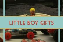 Gift Ideas for Little Boys / Gift ideas for little boys and toddlers.