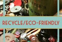 Eco-Friendly, Recycling, Upcycling
