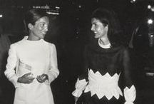 The Bouvier Sisters / Style icons Jackie Kennedy Onassis and her sister Lee Radziwell / by Adriane Stark