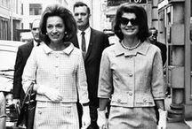 The Bouvier Sisters / Style icons Jackie Kennedy Onassis and her sister Lee Radziwell: their lives and loves. / by Adriane Stark