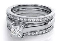 Match Made in Heaven / Browse through a selection of our wedding sets. All are available in your choice of 14kt, 18kt, Platinum or Paladium. Visit our website for more styles