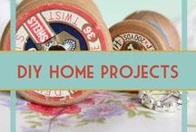 DIY Home Projects & Adult Crafts / Make your own DIY wreaths, candles, furniture, and more! Crafts for adults