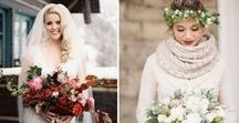 Winter Wedding Inspirations / From rustic winter weddings to elegant winter wedding celebrations here are a few gorgeous offerings for planning your winter wedding celebrations. Snowflakes, lanterns, burlap and gold- a little bit of everything for a winter wedding.