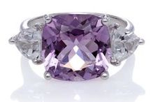 February Amethyst Birthstone / Amethyst is the birthstone for February. Its color ranges from light lilac to bursting purple. Luminous purple amethyst is the birthstone for the month of February. Amethyst is the most highly valued and recognizable gemstone of the quartz family. Its affordable pricing makes it a perennially popular choice. It is found in a range of colors from violet to pale red-violet. Purple has long been associated with power and wealth.