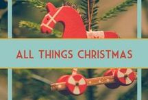 Christmas Decor, Ornaments, & Crafts / DIY crafts, ornaments, decor ideas, and all things Christmas