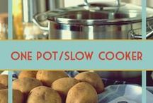 One Pot Meals & Casseroles / Easy meals that don't mean a lot of dishes. Recipes for your slow cooker, crockpot, pressure cooker, or just one pot.