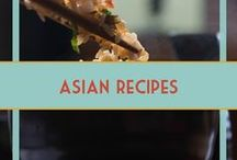 Asian Recipes /  Chinese, Thai, Japanese, Indian, etc