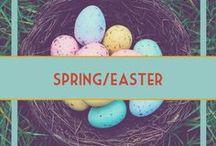 Easter/Spring Decor & Food