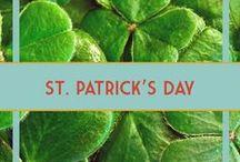 St. Patrick's Day Food, Crafts, & Decor