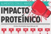 Proteínas y vegetales / Algunas proteínas naturales