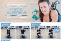 Entrenamiento para pecho / Algunos ejercicios