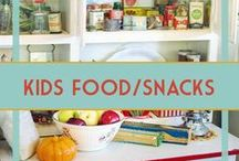 Kids Food & Snacks / Yummy treats and delicious food that the kids are sure to love. Great party food ideas, too.