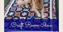 Craft Room Ideas / Craft Room Ideas, Craft Room Decor and Craft Accessories